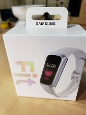 Samsung Galaxy Fit Water-Resistant Smart Activity Tracker + Heart Rate,  Silver