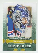 (56867) 2012-13 ITG BETWEEN THE PIPES HENRIK LUNDQVIST #86 (LOT of 7)