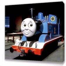 thomas the tank engine KIDS BEDROOM CANVAS PICTURE 25 X 25cm