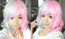 2018 Super Dangan Ronpa Pink And White Bear Cosplay Wig