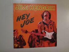 """JIMI HENDRIX: Hey Joe 3:20- Stone Free 3:30-France 7"""" Barclay BE 135-3088 PSL"""
