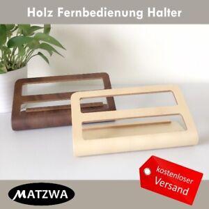 Holz Fernbedienungshalter Schreibtisc Telefon Handyh Caddy Organizer Ständer
