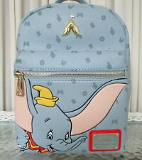 Disney Loungefly Dumbo Letters Mini Backpack Nwt!