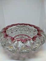 Vtg Indiana Glass Candy Nut Dish Bowl Monticello