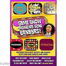 Game Show Moments Gone Bananas (2008, DVD)