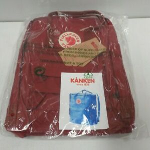 Fjallraven Classic Kanken Backpack Style No. 23510 - Ox Red