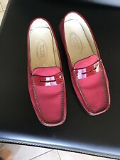 Tods Womens Loafers Size 38