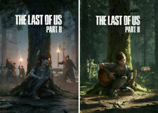 The Last Of US : Part II 2 Game Poster Art Print Wall Decor AU