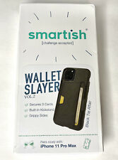 Smartish iPhone 11 Pro Max  Wallet Case - Wallet Slayer Vol. 2 [CM4 Q Card Case]