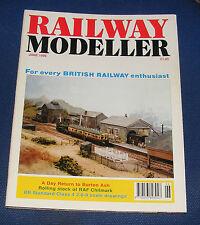 RAILWAY MODELLER VOLUME 47 NUMBER 548 JUNE 1996 - BURTON ASH