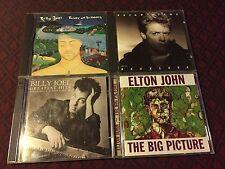 BILLY JOEL/ ELTON JOHN/ BRYAN ADAMS- CD LOT OF 4