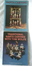 Santa Carving Ron Ransom & Traditional Santa Carving With Tom Wolfe Woodcarving