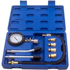 Engine Cylinder Compression Pressure Tester Gauge Test Kit Car Bicycle