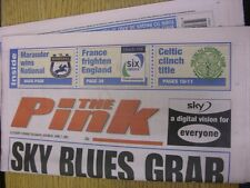 07/04/2001 Coventry Evening Telegraph The Pink: Main Headline Reads: Sky Blues G