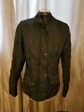 Ladies Barbour Jacket, Flyweight cavalry, Size 8, Navy Blue