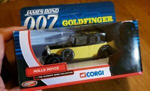 "James Bond 007 TY06801 Corgi ""Goldfinger"" Rolls Royce Ultimate Bond Collection"