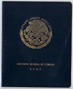 Mexico 1957 Universal Postal Union Congress (UPU) Ottawa Presentation Album RARE