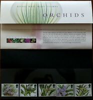 Royal Mail Mint Stamps Orchids Presentation Pack 1993