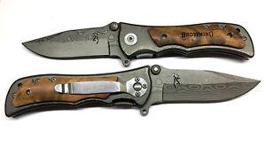 Browning 339 Tiger Pocket Folding Knife