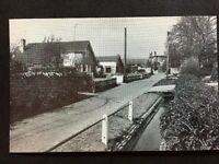 RP Vintage Postcard - Northamptonshire #B5 - Manor Walk, Nether Heyford