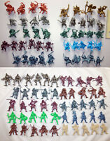 Battle Fantasy Set : 98 Plastic Toy Soldiers from Russia, 54mm, Tehnolog, New