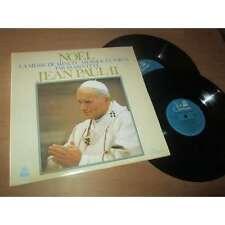JEAN PAUL II - noel - la messe de minuit par JEAN PAUL II - 2 Lp's RCA 6 1978