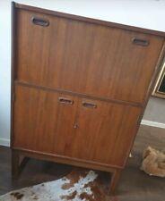 More details for mid century  retro teak sideboard cocktail / drinks cabinet