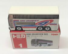1:154 Hino Grandview Bus (White) - Made in Japan Tomica 1