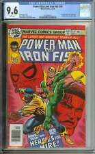 POWER MAN #54 CGC 9.6 WHITE PAGES