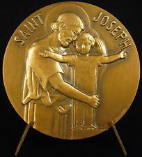Médaille 1967 Institution Saint Joseph Charpentier l'enfant Jésus Asnière Medal