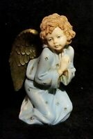 Large Vintage Depose Praying Christmas Angel - Italy