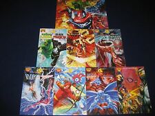 Project Superpowers Chapter 1 & 2 Black Terror Death-Defying Devil Lot 52 Issues