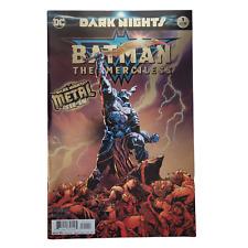 Batman The Merciless #1 Cover A 1st Print Regular Jason Fabok Foil-Stamped 2017