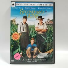 Secondhand Lions DVD 2004 New Line Platinum Series Michael Caine Robert Duvall