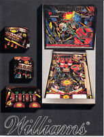 WILLIAMS  Blackout  pinball flyer brochure pamphlet BRAND NEW. Year 1980.
