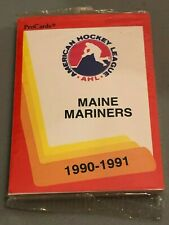 1990-91 PRO CARDS AHL MAINE MARINERS TEAM SET Factory Sealed