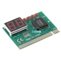New 2/4 Digit 3 in1 PCI PCI-E PC Analyzer Analysis Diagnostic Card USB POST Card