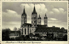 1940 Stempel Naumburg Saale auf Feldpostkarte 2. WK nach Neukirchen Erzg. gelauf