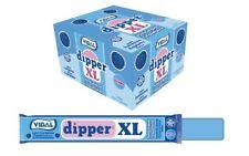 Vidal Dipper XL Frambuesa Caramelo Masticable Sin Gluten - 100 unidades