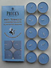 Anti Tobacco Scented Tealights candles extracts of orange & clove pack 10 Prices