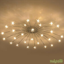 Modern Meteor Glass Dandelion LED Chandelier Pendant Lamp Ceiling Lighting Light