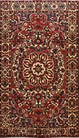 Vintage Geometric Hand-knotted Traditional Area Rug Living Room Oriental 7'x10'