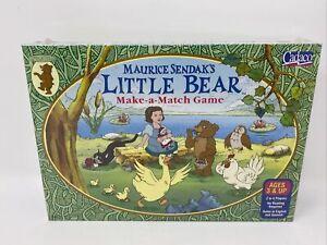 Vintage Maurice Sendak Little Bear Matching Game New Sealed 1999 Make A Match