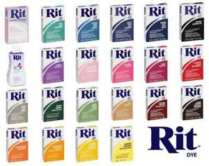 RIT All Purpose Fabric Dye Powder (31.9g) - Choose Your Colour