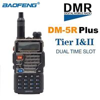 BaoFeng DM-5R Plus DMR Digital Walkie Talkie VHF UHF Dual Band Portable  Radio