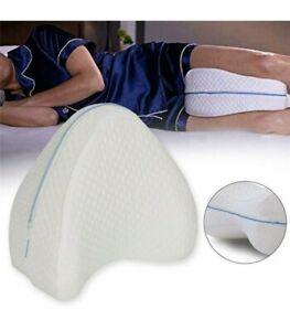 Almohada para piernas Knee Pillow Se adapta a tu cuerpo Descanso de calidad