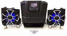 Polaris Ranger Dash Mounted Audio Kit - Rockford Fosgate PMX-3 - Wet Sounds REVO