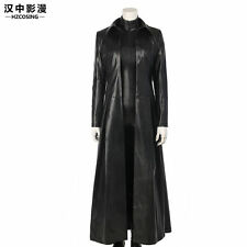 HZYM Underworld: Blood Wars Vampire Warrior Selene Cosplay Leather Trench Coat