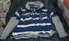 Lovely Boys Rebel New York Sweatshirt Blue & white 2-3 years