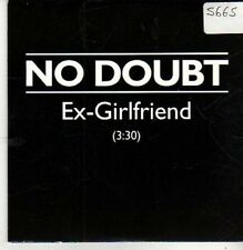 (CB280) No Doubt, Ex-Girlfriend - 2000 DJ CD